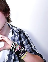 Cute new emo Devon starts his video by telling...