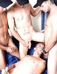 AJ Monroe, Shane Jacobs, Bobby Hudson and Leo...