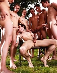Hot gay lad Enzo Bloom takes some awesome...
