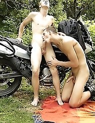 Outdoor Twink Reunion Sees Justin Conway...