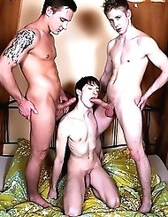 Young Kurt Maddox Gets Two Cocks For The Price...